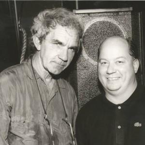 The late great J J Cale & Joe at Largo in LA.