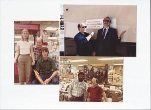 Tower Records SF Daze with UK Hugh, Martin Mull, Cornelius Bumpus RIP, from Doobie Bros.