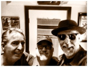 Joe with Johnny Lee Schell & Joe Sublet at Ultratone Studios
