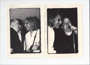 Joe with Albert Lee at the John Bull Pub, Pasadena, CA