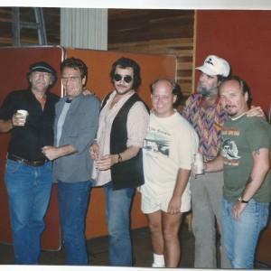 Joe with TIm, Lonnie Mack, Keltner, Stan Szelest, Dumpy Rice - too soon gone