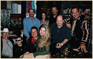 Joe with Joe Ely, Flaco Jimenez, Charlie Musselwhite and friends at House of Blues, West Hollywood, CA