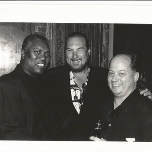 Booker T,  Steve Cropper & Joe at the House Of Blues opening night, West Hollywood