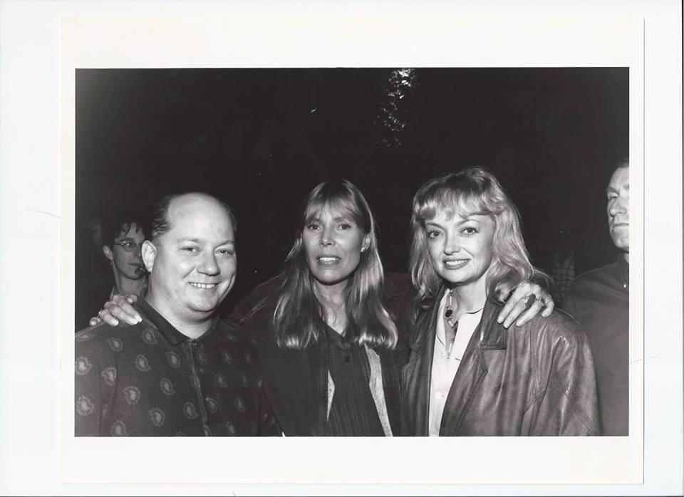 Joe with Joni Mitchell, Rosemary Butler in Santa Monica