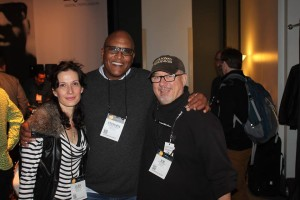 Drummer Steve Ferrone from Tom Petty and AWB and Joe  at NAMM