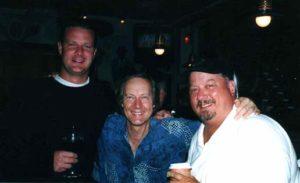 Goodfellos! - Steve Flynn, Jim Weider, and the Duck - at Steve\'s bar