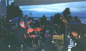 Sunset over Sackets Harbor - All Star Jam (Levon in foreground)