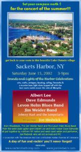 SACKETS HARBOR Concert 6/15/02