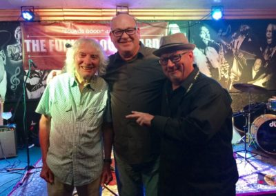 Me and my pals Albert Lee and John Corley at the Burbank CD Release Party and Show